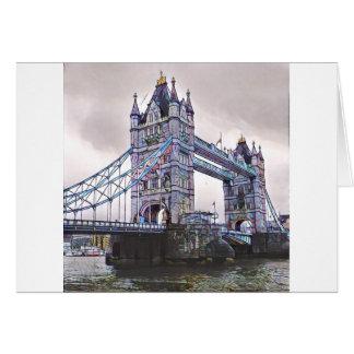 Turm-Brücke London Karte