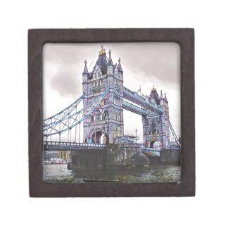 Turm-Brücke London Schmuckkiste