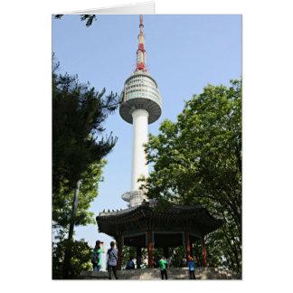 Turm N Seoul Karte