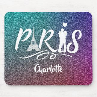 Turm-super cooles personalisiertes Liebe-Paris Mauspad