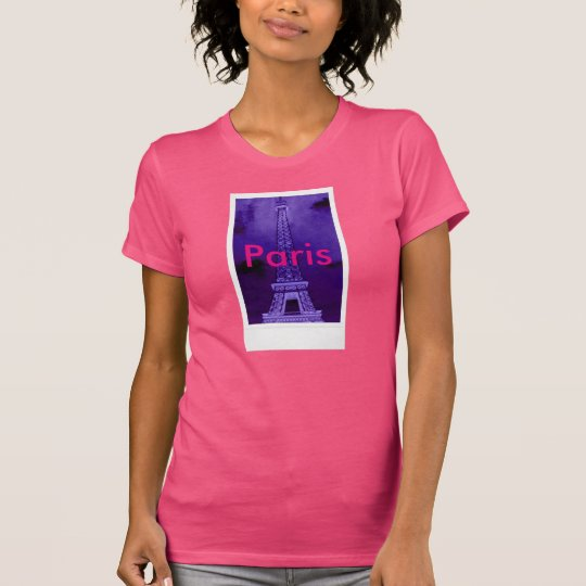 Turm-T - Shirt Paris Frankreich Eiffel