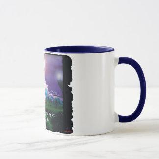 """""""Turm von Licht u. Liebe"""" 11oz Kaffee-Tasse Tasse"""