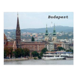Türme über der Donau Postkarte