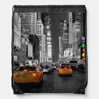 Turnbeutel Beutel Tasche New York Times Square Cab