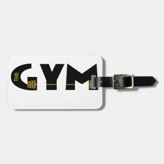 Turnhalle und Fitness Kofferanhänger