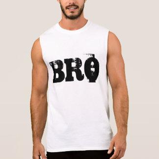 "Turnhallen-Motivation ""Bro "" Ärmelloses Shirt"