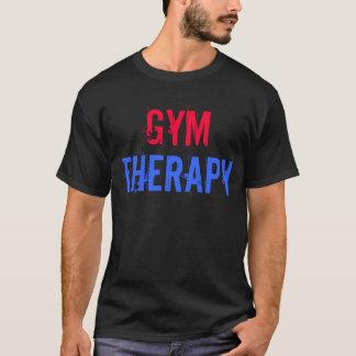 """Turnhallen-Motivation """"Turnhallen-Therapie """" T-Shirt"""