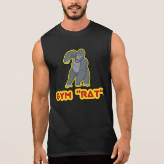 "Turnhallen-""Ratten-"" Gorilla - Sleeveless T - Ärmelloses Shirt"