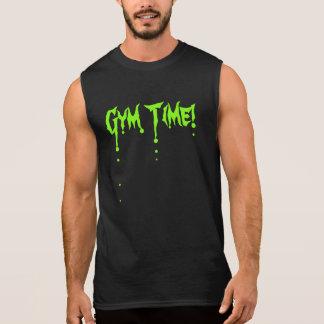 Turnhallen-Zeit-Muskel-Shirt Ärmelloses Shirt
