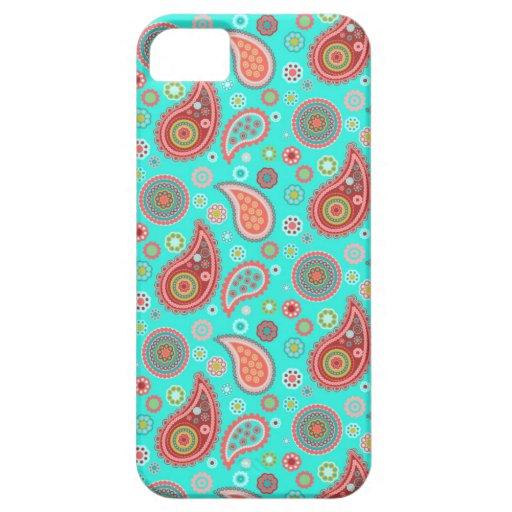 Turquoise espiègle coques Case-Mate iPhone 5