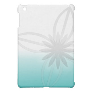 Turquoise florale coques iPad mini