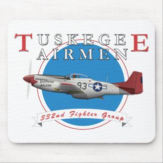Tuskegee Rot-Schwänze Mousepad