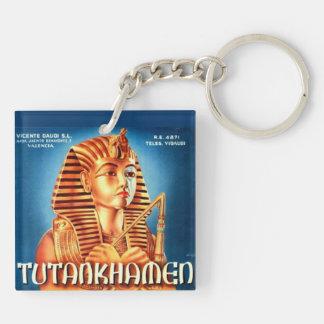 Tutankhamen Keychain Beidseitiger Quadratischer Acryl Schlüsselanhänger