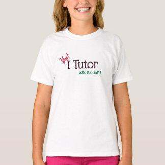 Tutor ja, Tutor ich T-Shirt