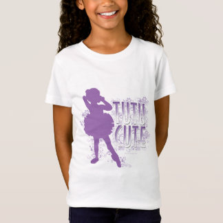 Tutu niedlich (violett) T-Shirt
