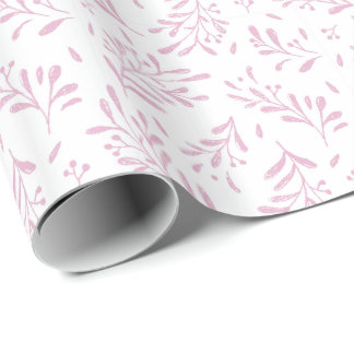 Tutu-niedliches Häschen personalisiert Geschenkpapier