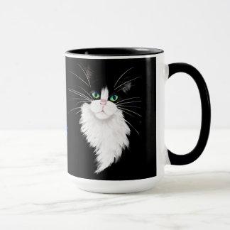 Tux-Smoking Katzenfelsen Tasse