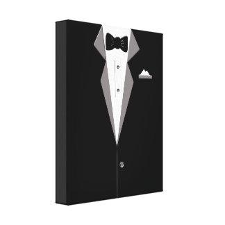 Tuxedo-Anzugs-Kunst-Leinwand-Druck Leinwanddruck