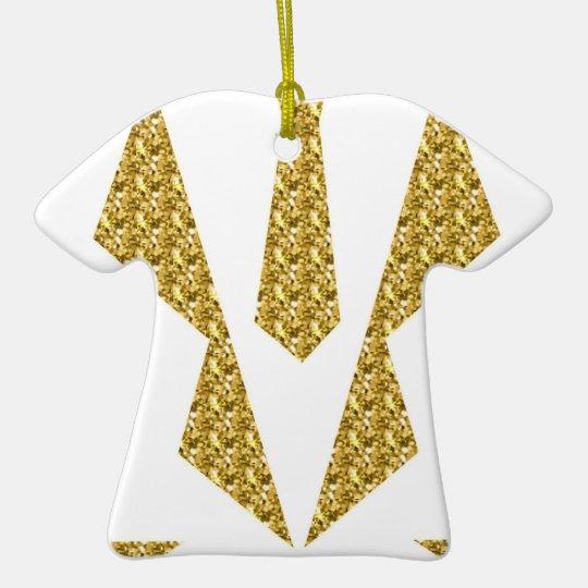 Tuxedo-extravagantes Kleid Keramik T-Shirt-Ornament