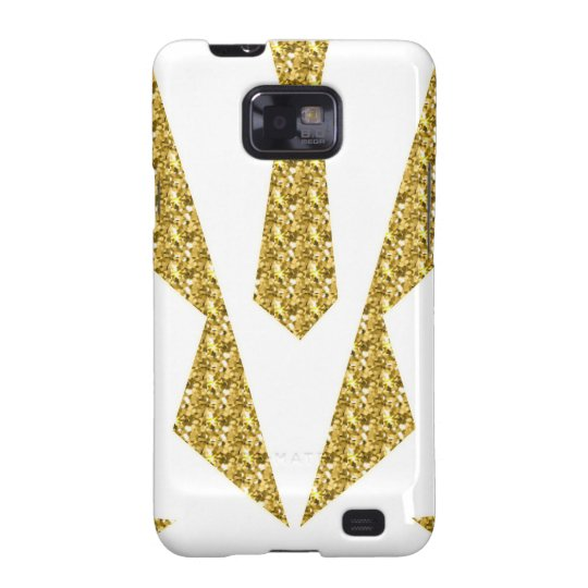 Tuxedo-extravagantes Kleid Samsung Galaxy SII Hülle