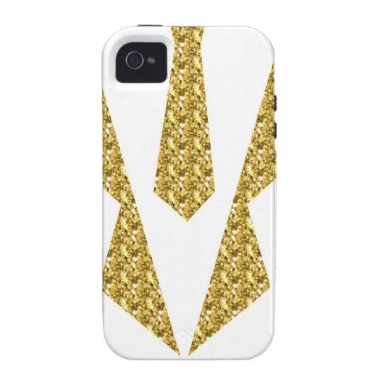 Tuxedo-extravagantes Kleid Vibe iPhone 4 Case