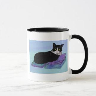 Tuxedo-Katzen-Nickerchen-Tassen Tasse