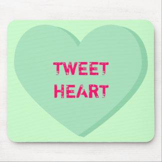 Tweetheart Gesprächs-Herz Mousepad