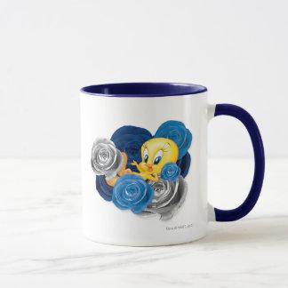 Tweety avec des roses