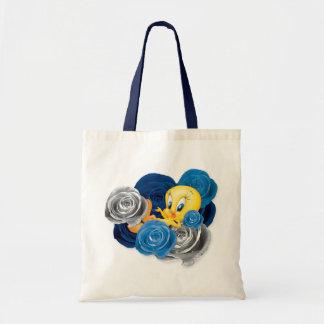 Tweety avec des roses sac en toile budget
