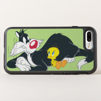Tweety in Aktions-Pose 14 OtterBox Symmetry iPhone 8 Plus/7 Plus Hülle