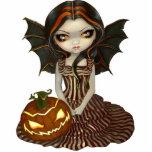 Twilight gotische feenhafte Foto-Skulptur Hallowee Foto Ausschnitte