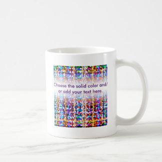 Twinkly Lichter verblaßten Kaffeetasse