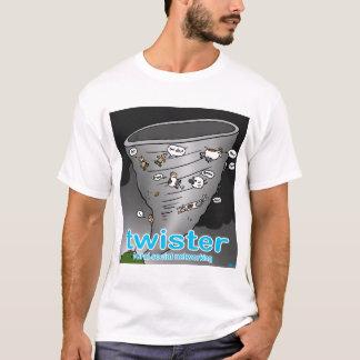 Twister. Ländliche Sozialvernetzung T-Shirt