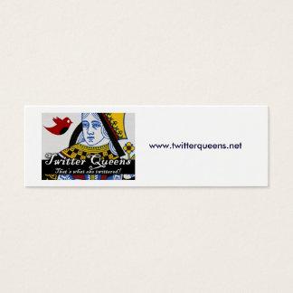 TwitterQueens, www.twitterqueens.net Mini Visitenkarte
