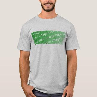 Twofer Crew-lange Hülse (angepasst) T-Shirt