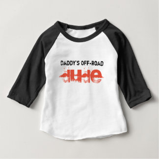 Typ des Vatis der nicht für den Straßenverkehr Baby T-shirt