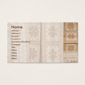 Typische Decke von den Azoren Visitenkarte