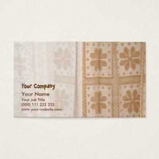 Typische Decke von den Azoren Visitenkarten