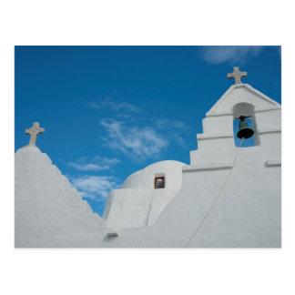 Typische rehabilitierte Kirche Postkarte