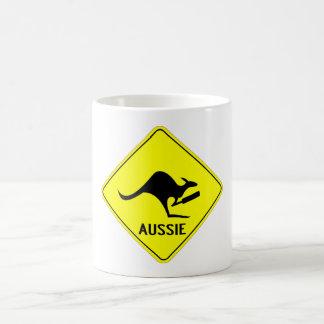 Typischer Australier Kaffeetasse