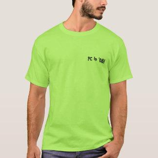 Typischer weißer Typ T-Shirt