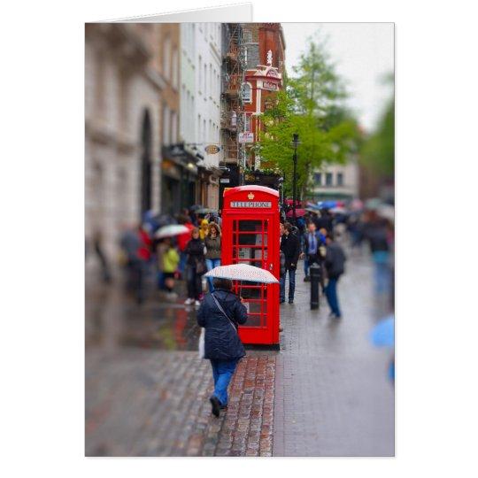 Typisches London - vergessen Sie nicht die Grußkarte
