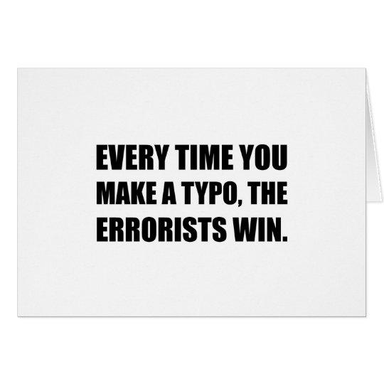 Typo Errorists Karte