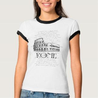 "Typografie-Collage Roms ""Colosseum"" Digital T-Shirt"