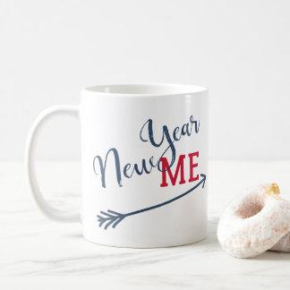 Typografie-Erinnerung der Entschließung des neuen Kaffeetasse
