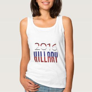 Typografie für Hillary 2016 Wahlen Tank Top