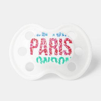 Typografie Hauptstadts-New York Paris London, T - Schnuller