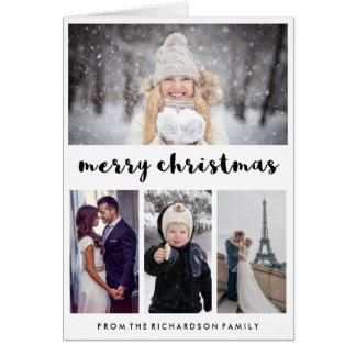Fotocollage Weihnachtskarten auf Zazzle Deutschland