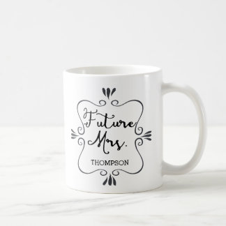 Typografie-Zukunft-Frau Tasse
