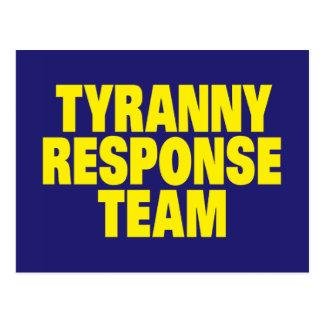 Tyrannei-Warteteam Postkarten